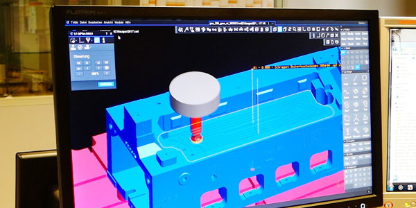 Milling simulation