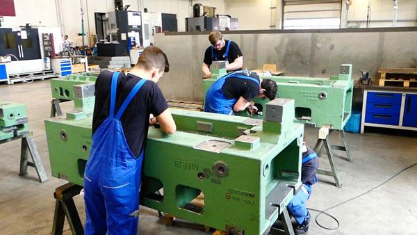 Ausbildung der Lehrlinge in Hövelhof